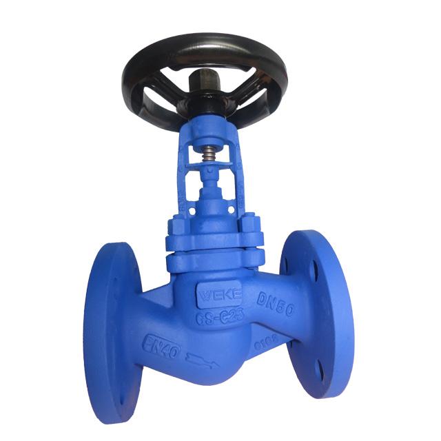 Bellows seal globe valve WEKE0