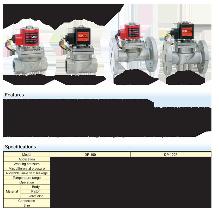 Catalog van dien tu Yoshitake DP-100-100F