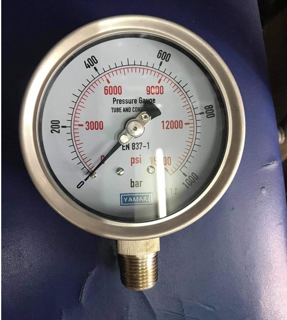 đồng hồ đo áp suất cao 1000bar