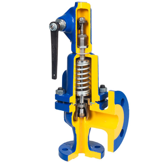 Safety valve Zetkama 240 in Vietnam0