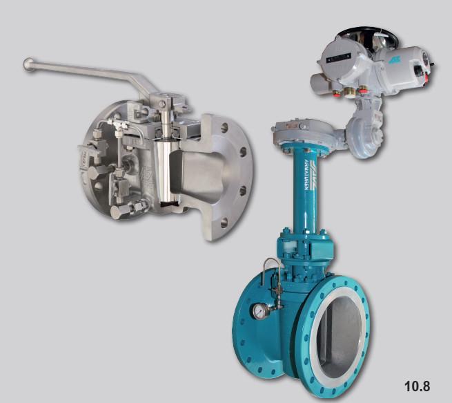plug valve double block cho hóa chất, xăng dầu và H2S04