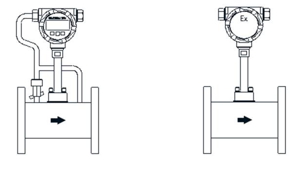 Đồng hồ đo lưu lượng hơi nước bão hòa